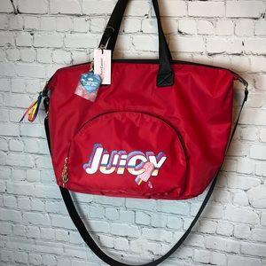 Juicy Couture Red Speed Racer Weekender